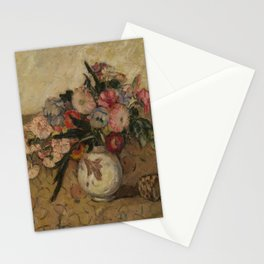 MANEVICH, ABRAHAM (1881-1942) Still Life of Flowers in a Vase Stationery Cards