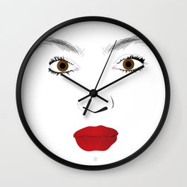"""My Beauty"" by Keith Moses Wardlaw A.K.A. kmoses215 Wall Clock"