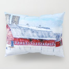 A Snowy Day Pillow Sham