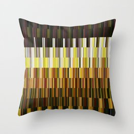 Kaleidoscope | Flower Field Throw Pillow