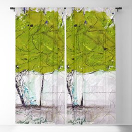 A Bouquet Of Flowers No.6i by Kathy Morton Stanion Blackout Curtain