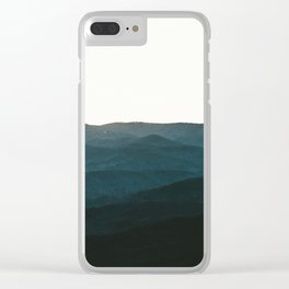 North Georgia Mountains 3 Clear iPhone Case