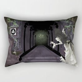 When candelights flicker... Rectangular Pillow