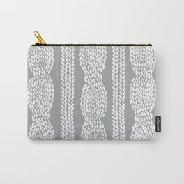 Cable Grey Carry-All Pouch