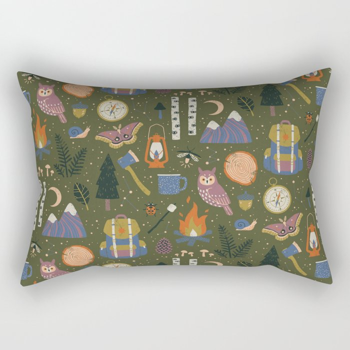 Into the Woods Rectangular Pillow