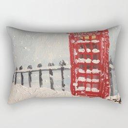 London Blizzard Rectangular Pillow