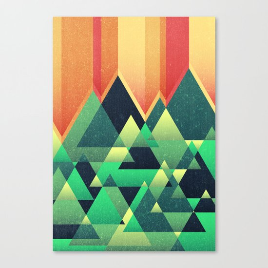 Summer Mountains Canvas Print