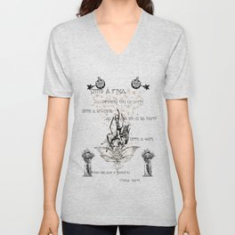 This Symphony is Never-ending. Unisex V-Neck
