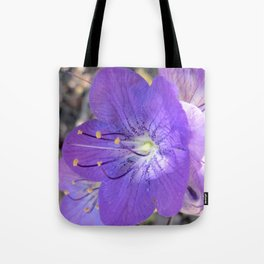 "Flower ""Early Morning"" Tote Bag"