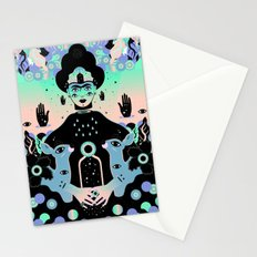 Las lunas de Frida Stationery Cards