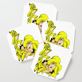 Banana Flavor Girl Coaster