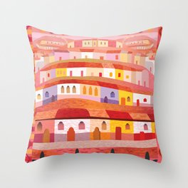 Little Sonora (Square) Throw Pillow
