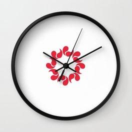 Flag of Saitama Wall Clock