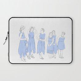Bridesmaids (blue) Laptop Sleeve