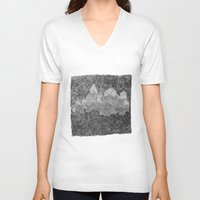 return V-neck T-shirts featuring return 2 by Barbara R.