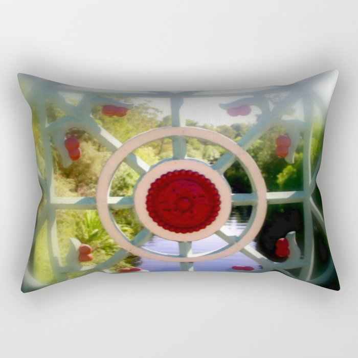 Albert Bridge over the River Torrens - Adelaide Rectangular Pillow