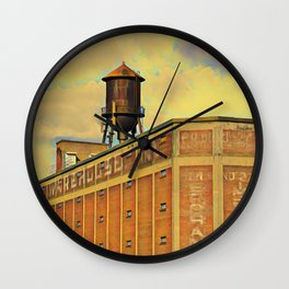Montreal factory Wall Clock