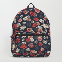 Water Lilies Pattern Backpack