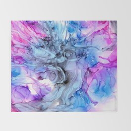 At The Ballet Throw Blanket