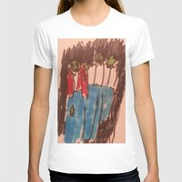 zombies T-shirts featuring Zombies  by Drake Darklight