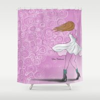 dancing Shower Curtains featuring Dancing by elisacalderoni92