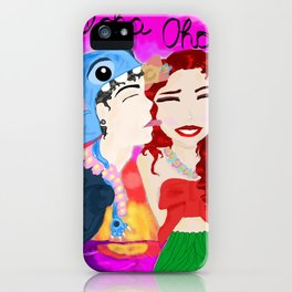 Lilo and Patch iPhone Case