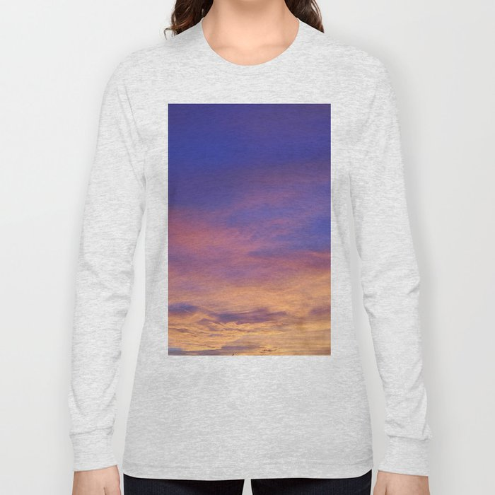 COME AWAY WITH ME - Autumn Sunset #1 #art #society6 Long Sleeve T-shirt