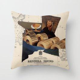 Rennell Sound Throw Pillow