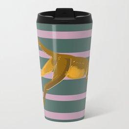 Fossa with color lines Travel Mug