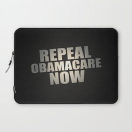 Repeal Obamacare Now Laptop Sleeve