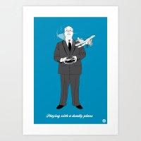 Alfred (Cameo One Shot) Art Print