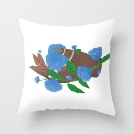 Baby girl, don't you know you're magic? Throw Pillow