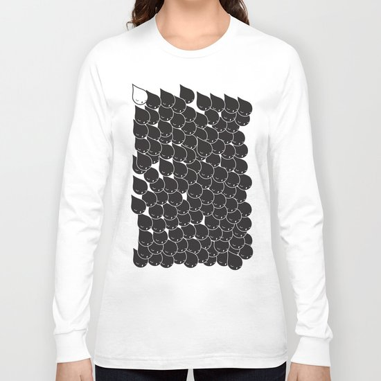 FOLLOW ME  FOLLOW YOU - BLK Long Sleeve T-shirt