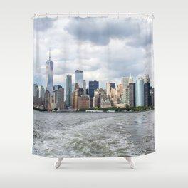 NYC Skyline 2017 Shower Curtain