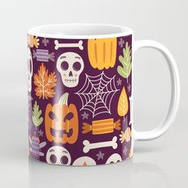 Retro Halloween Trick-Or-Treat Collage Coffee Mug