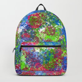 Smudges #2 Abstract Backpack