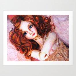 Venus in Furs Art Print
