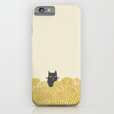 Cat and Yarn Slim Case iPhone 6s