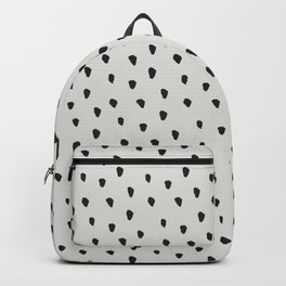 Messy Brush Spots Warm Grey Backpack