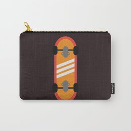 Orange Skateboard Carry-All Pouch