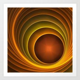 dreams of color -02- Art Print