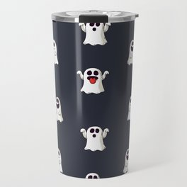 Ghost Pattern Travel Mug