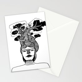 Mme Bonsai Stationery Cards