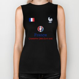 Champion Uefa Euro 2016 France Biker Tank