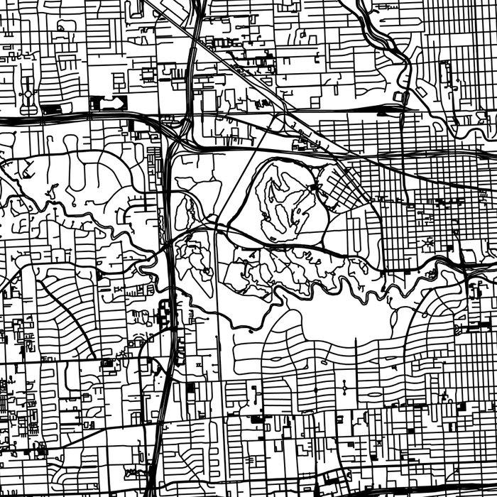 Houston White Map Leggings