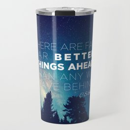 "CS Lewis ""Better Things Ahead"" Travel Mug"