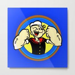 sailor man Metal Print