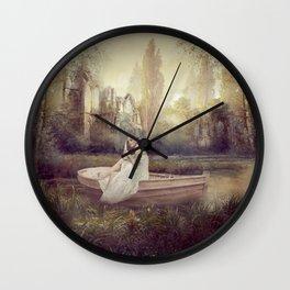 Au fil de l'eau et du temps Wall Clock