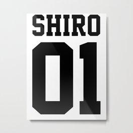 Shiro Sport Jersey Metal Print