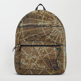 Old world map backpacks society6 vintage old world abstract map backpack publicscrutiny Images